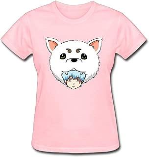 Refined Nyanko Sensei Natsume Yuujinchou Ban Women's Cotton Short Sleeve T-Shirt