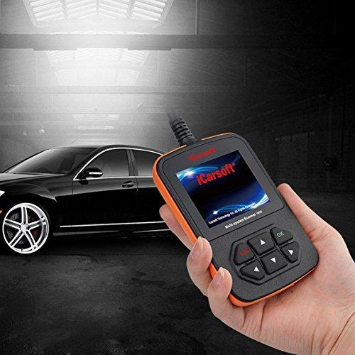 iCarsoft i908 Compatible for AUDI SEAT SKODA OBD2 Engine Vehicle Diagnostic Tool Code Fault Multi-System OBD-II Scanner