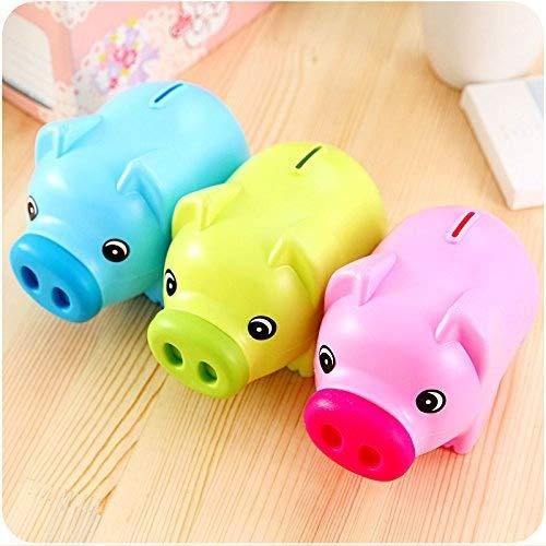 Jakerbing Leuk plastic varken geld besparen munten opslag spaarvarken voor kinderen