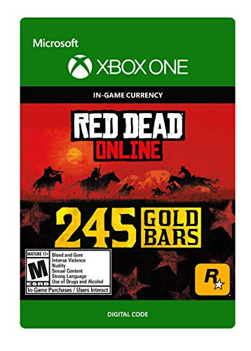 Red Dead Redemption 2: 245 Gold Bars 245 Gold Bars - [Xbox One Digital Code]