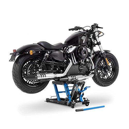 ConStands - Motorrad-Hebebühne Kawasaki VN 800/2000/ Classic Hydraulisch Sicherung Blau