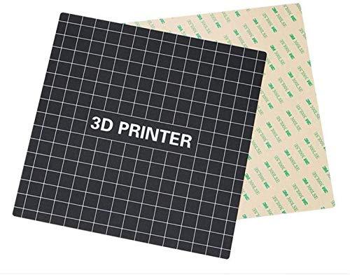 JJDSN Zubehör, Wiederverwendung von beheiztem Bett 300 300 mm Hot Bed Platform-Aufkleber mit verbesserter Rückseite für Creality CR-10 / 10S 3D-Drucker-Teiledrucker