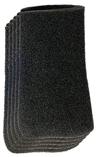 Original Einhell Schaumstofffilter 10l (Nass-Trockensauger-Zubehör, 10 Liter, 5 Stück enthalten, passend für TE-VC 18/10 Li, Durchmesser 70 mm, 120 mm Länge)