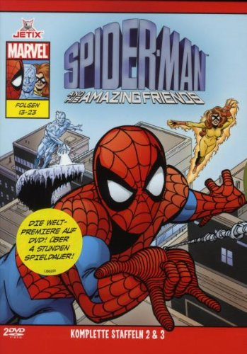 Spider-Man And His Amazing Friends - Staffel 2+3 (2 DVDs)