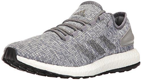 Price comparison product image adidas Men's Pureboost Running Shoe,  Dark Heather / Clear Grey,  8.5 M US