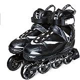 Patines en línea agresivos, ABEC-7 Cuchillas de rodillos de competición con rodamiento silencioso de acero al carbono, adecuados para entusiastas del patinaje sobre ruedas(Size:7 /(24CM) /38)
