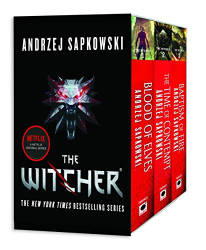 The Witcher Boxed Set: Blood of Elves,...