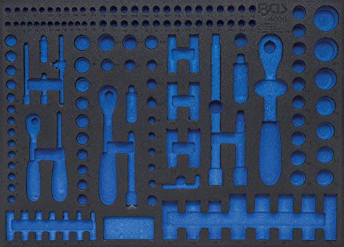 BGS 4036-1 | Werkstattwageneinlage 3/3 | leer | für Art. 4036 Steckschlüssel-Satz