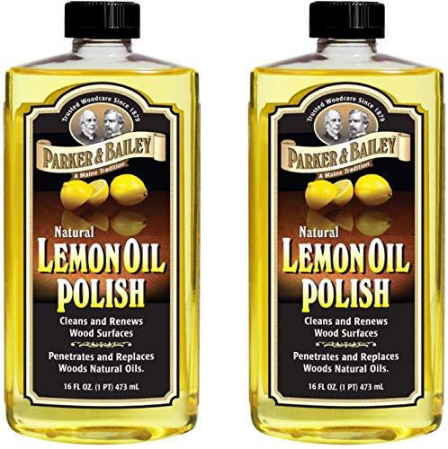 Parker & Bailey Natural Lemon Oil Polish 16oz - Pack of 2