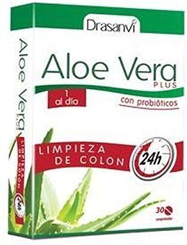 Aloe Vera Plus Colon 30 comprimidos de Drasanvi