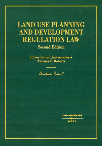 Land Use Planning and Development Regulation Law (Hornbook Series)