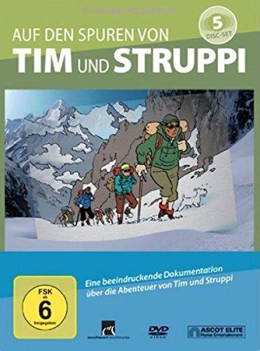 Auf den Spuren von Tim und Struppi (5 DVDs + Booklet)