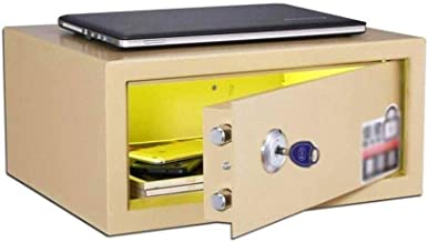 Cabinet Safes Safe Box Safes for Combination Lock with Key Freestanding Or Wall Mounted for Includes 2 Emergency Keys