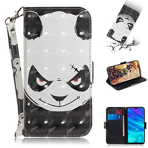 Capa tipo carteira XYX para iPhone 11 Pro Max, [pulseira] Capa protetora tipo carteira de couro PU colorida para iPhone 11 Pro Max 6,5 polegadas (urso irritado)