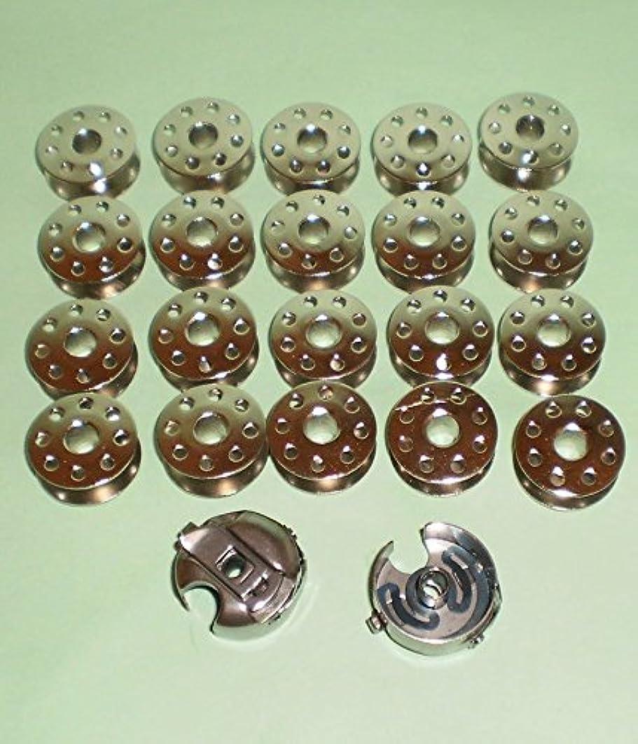 INDUSTRIAL SEWING MACHINE 20 BOBBIN 2 BOBBIN CASE JUKI SINGLE NEEDLE DDL8700