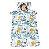 YFCH Baby/Kinder Jungen/Mädchen Schlafsack Kinderschlafsack Abziehbar Babyschlafsack Baumwolle...