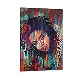 shitu Lauryn Hill Poster, dekoratives Gemälde, Leinwand,
