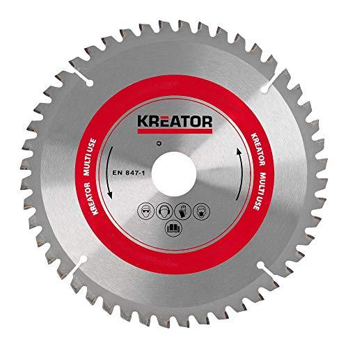 Varo Kreator Universal Kreissägeblatt - 305 x 30 x 2,8 mm 96 Zähne - 5 Reduzierringe