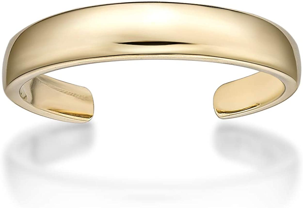 Lavari - 10K Gold Toe Ring Adjustable
