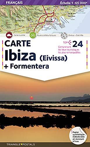 Mapa Ibiza + Formentera: Carte (Mapes)