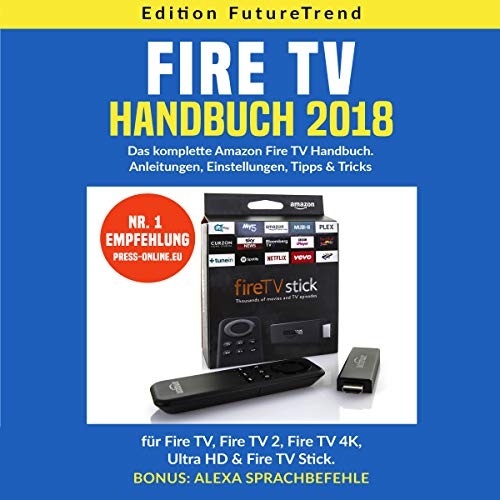 Fire TV Handbuch 2018 (German Edition) Titelbild