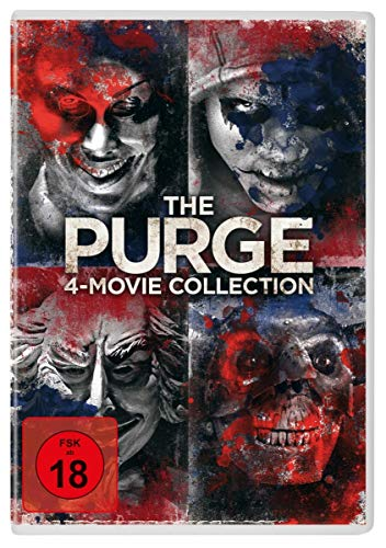 The Purge 4-Movie-Collection [4 DVDs]