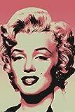 1art1 Marilyn Monroe - Popart Poster 91 x 61 cm