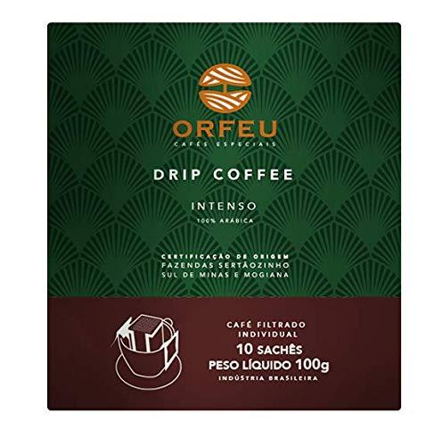 Drip Coffee Intenso Orfeu com 10 Saches