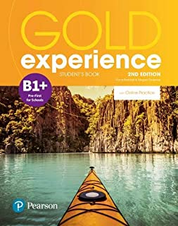 Gold Experience 2nd Edition B1+ Student's Book for Online Practice Pack