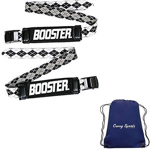 SkiMetrix Booster Strap voor Ski Boot Shin Bang Protection - (Verkrijgbaar in World Cup, Expert, Intermediate en Kids modellen) - Gebundeld met Covey Sports Bag
