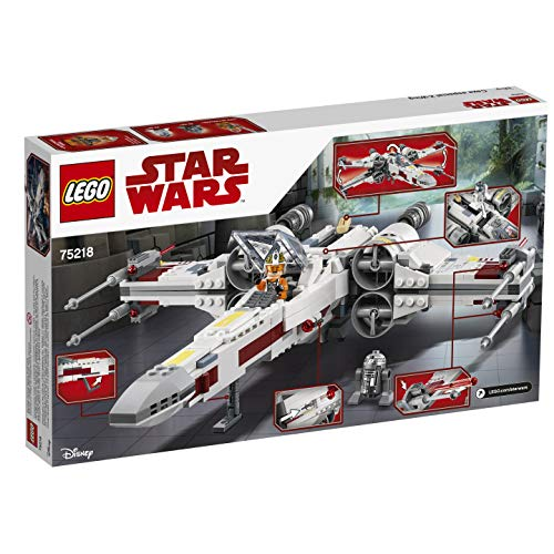 X-Wing Starfighter Luke Skywalker LEGO Star Wars 75218 - 730 Pièces - 8