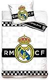 Real Madrid RM181051-135 - Juego de cama (135 x 200 cm)