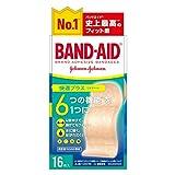 BAND-AID(バンドエイド) 救急絆創膏 快適プラス ワイドサイズ 16枚