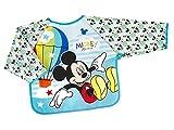 Disney Mickeysimply - Babero de Peva con mangas
