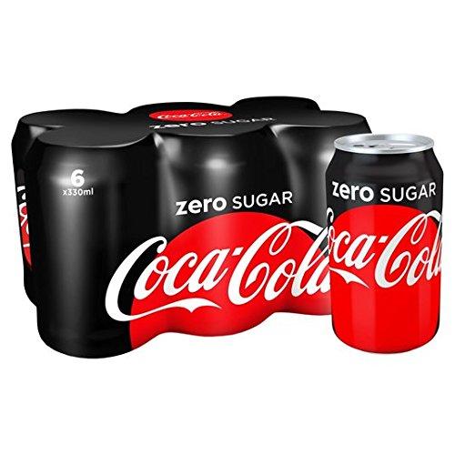 Coca-Cola Zero Suiker 6 x 330ml