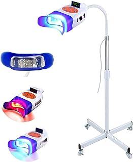Sponsored Ad - Fencia Teeth Whitening Machine, 2 Color Blue/Red LED Teeth Whitening Light, Mobile Dental Whitening Lamp Pr...