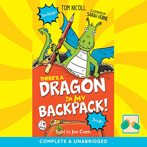 There's a Dragon in My Backpack Titelbild