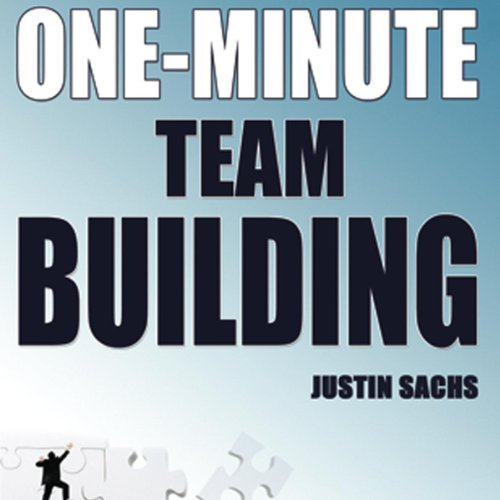 One Minute Team Building audiobook cover art