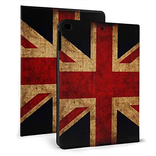 Case Ipad 9.7 Inch 2017/2018 (Mini4/5) - Soft Leather Stand Folio Case Cover For Ipad 7.9 Inch, With Multiple Viewing Angles, Auto Sleep/Wake, Uk Flag
