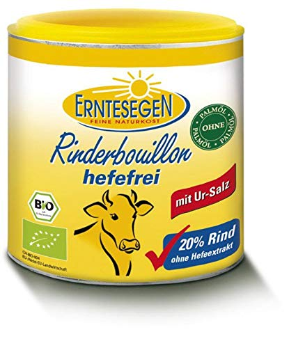 Erntesegen Bio Rinderbouillon hefefrei (2 x 120 gr)