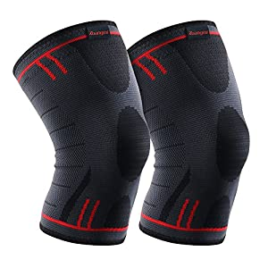 Kuangmi Knee Brace Compression Sleeve