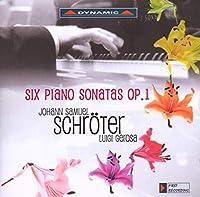 シュレーター:ピアノ・ソナタ Op. 1 (全曲)(ジェローザ)