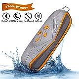Wasserdichter Bluetooth Lautsprecher,Tragbarer Marine IPX7 Wireless Bluetooth 4.1 Lautsprecher für...