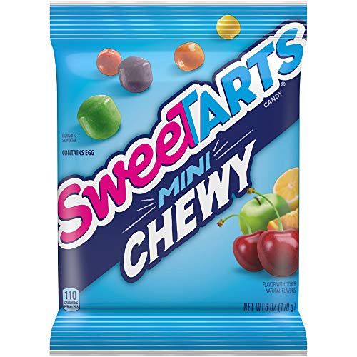 SweeTARTS Mini Chewy Candy, 6 Ounce, Pack of 12
