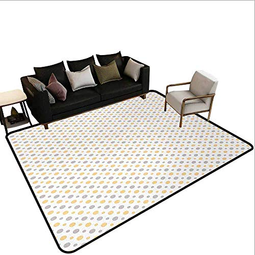 MsShe Tapijt liner voor tapijt Vintage, Badkuip in een kamer Grunge Muur Klassieke Bloemen Voet Rusten Zeeman Decoratief, Wit Rood Grijs