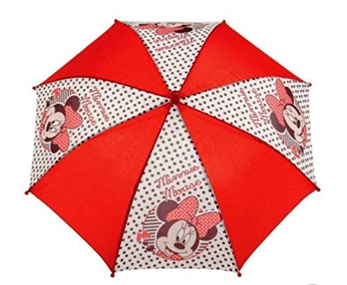 Disney Minnie Maus Regenschirm rot