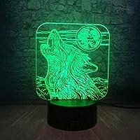 giyiohok 3Dナイトライトウミガメ3Dイリュージョンランプと7色変更装飾ランプリモコン付きリビングベッドルームバークリスマスギフトデコレーション子供の誕生日プレゼント-B5-B15