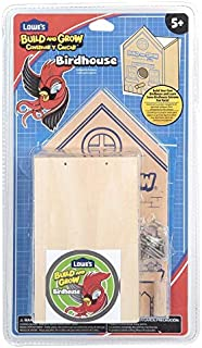 Build and Grow Birdhouse Lowe's by Lowe's