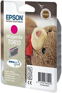 Epson T0613 Teddybär, wisch- und wasserfeste Tinte (Singlep