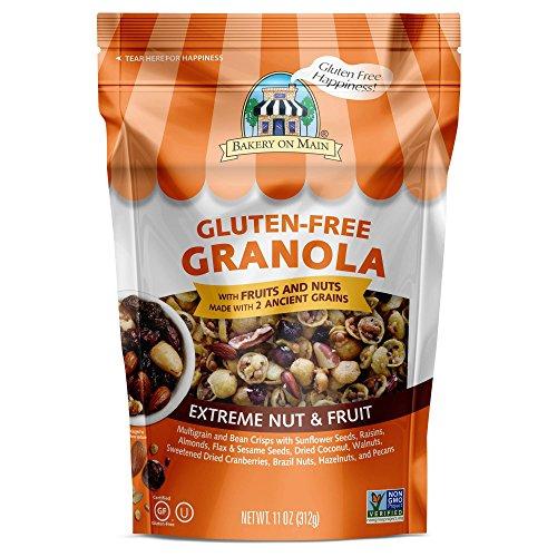 Bakery on Main Gluten Free Extreme Fruit & Nut Granola 11oz , one bag